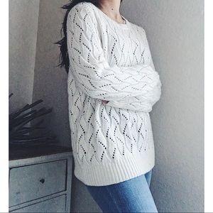 LOFT Sweaters - L O F T  》Crochet Pattern Sweater